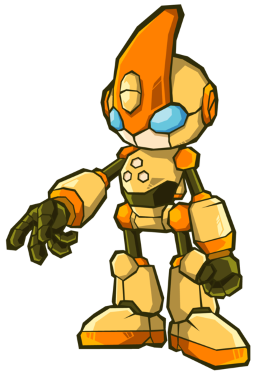 As the Last Story of Sonic Battle 2, it should be up to Emerl to confront and defeat Gemerl before he destorys the Earth.