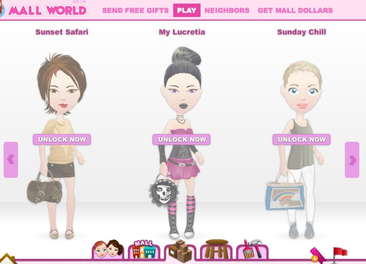 Level up in Mall World to get new fashion collections