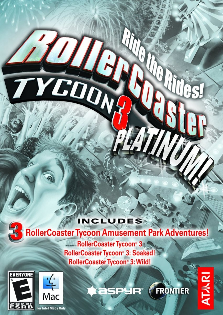 """Roller Coaster Tycoon 3: Platinum Edition"" (fair use)"
