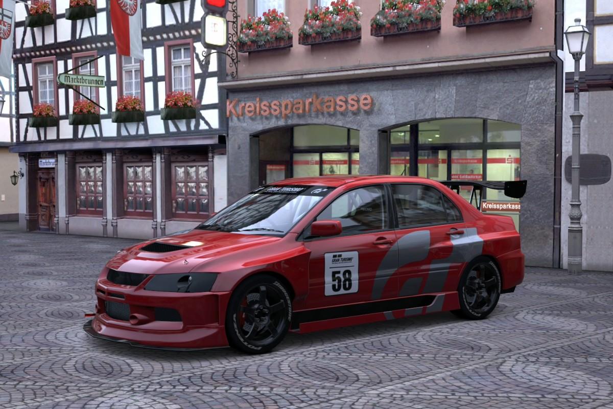 Mitsubishi Lancer Evolution IX GSR '05 RM GT5