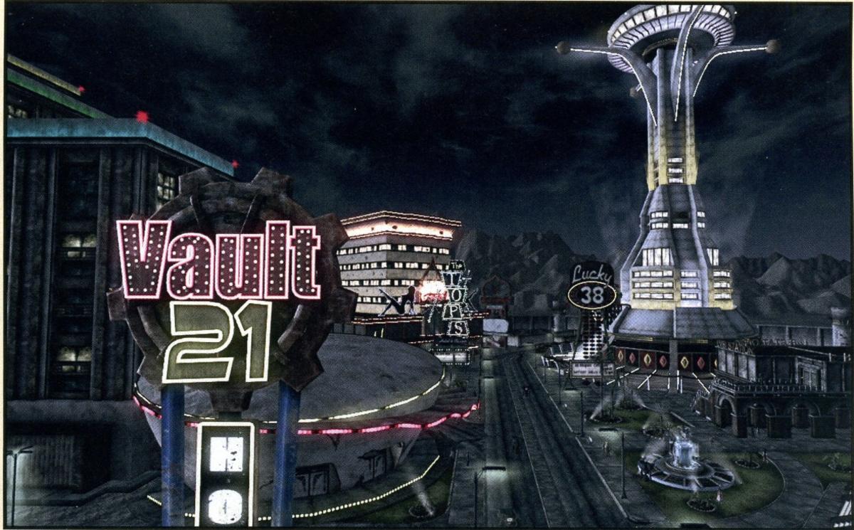 The Fallout New Vegas Strip