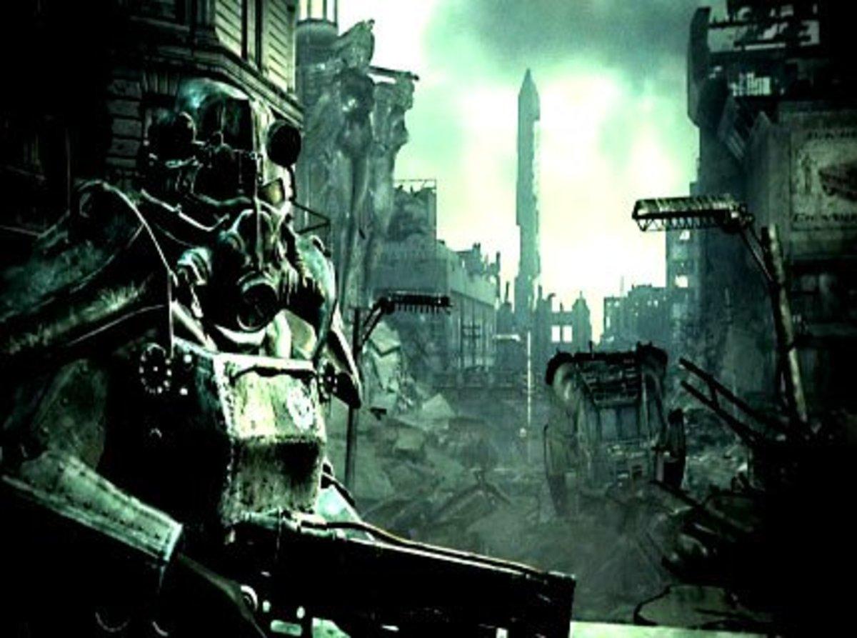 Fallout 3's Capitol Wasteland (aka Washington DC)