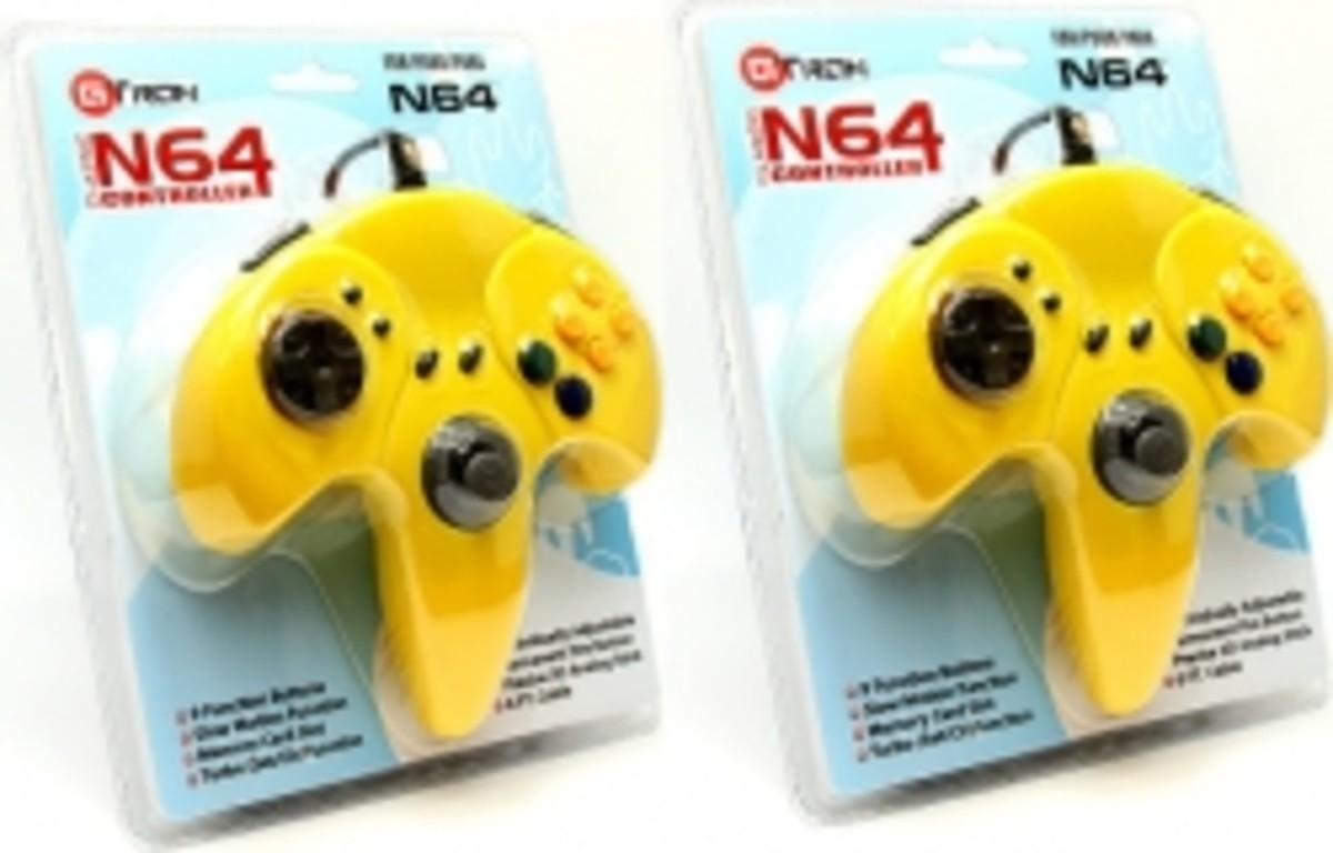 Aftermarket N64 Controller