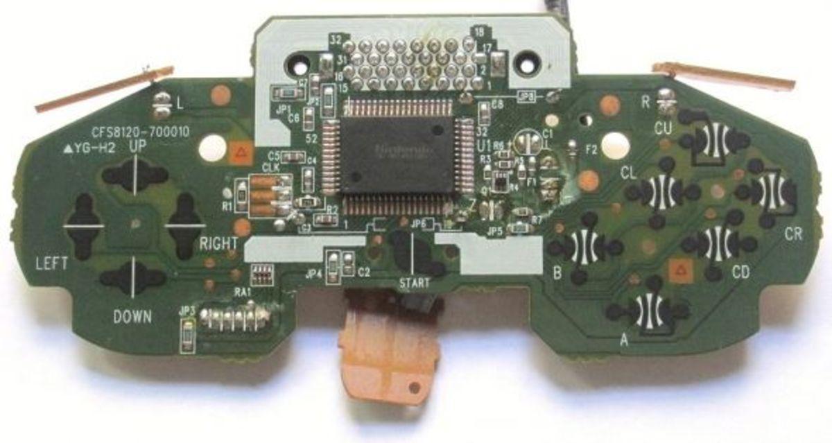 Nintendo 64 (N64) Controller Motherboard