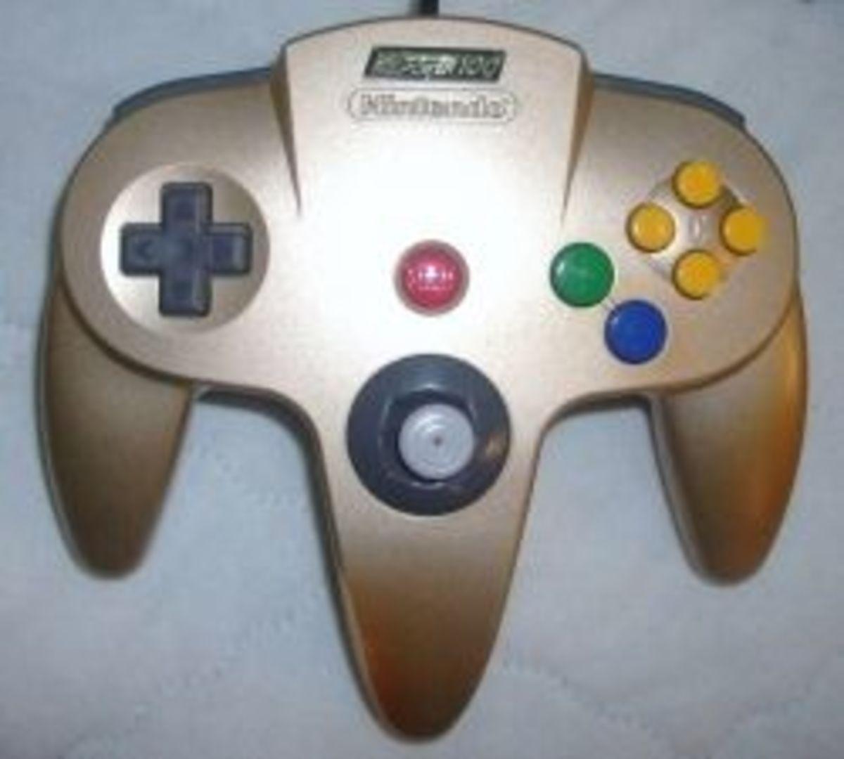 Nintendo Power NP100 N64 Controller