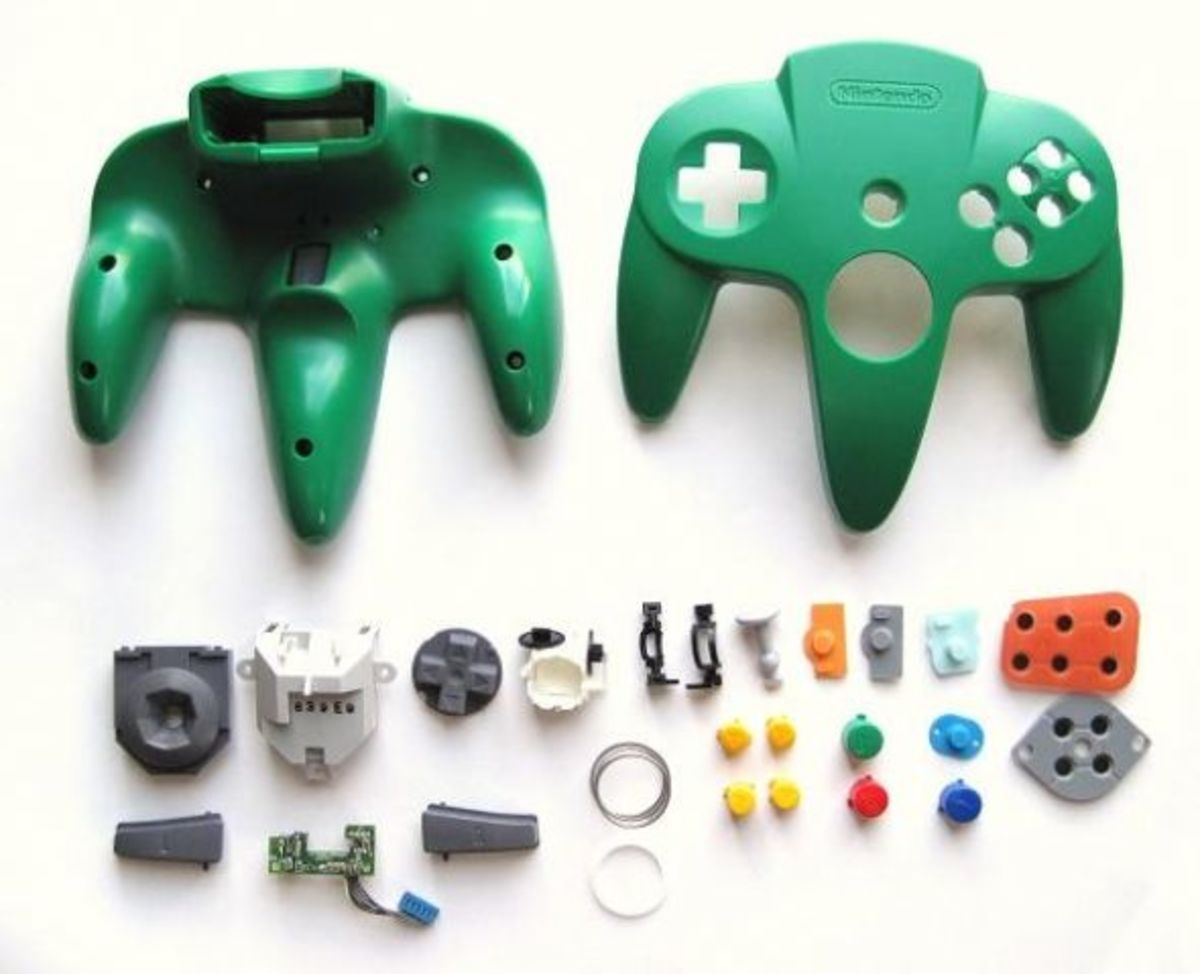 Parts of the controller