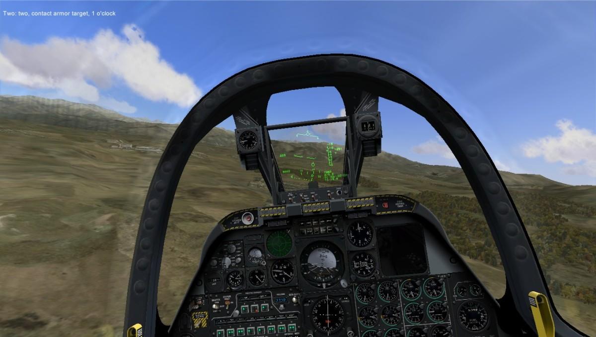 Flaming Cliffs 2 cockpit view.