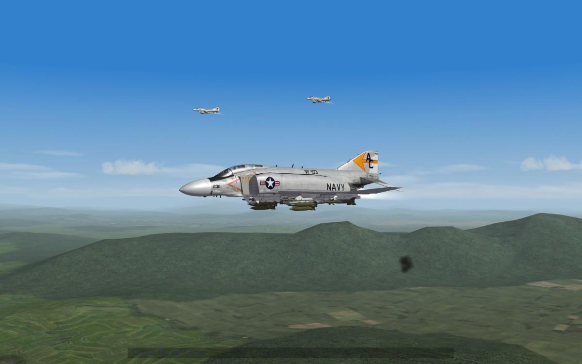 F-4 Phantom Over Vietnam.