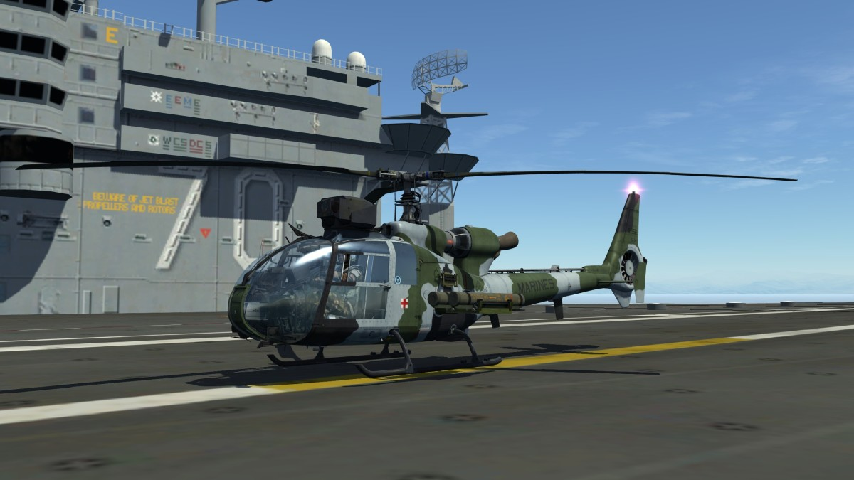 DCS World Helicopter