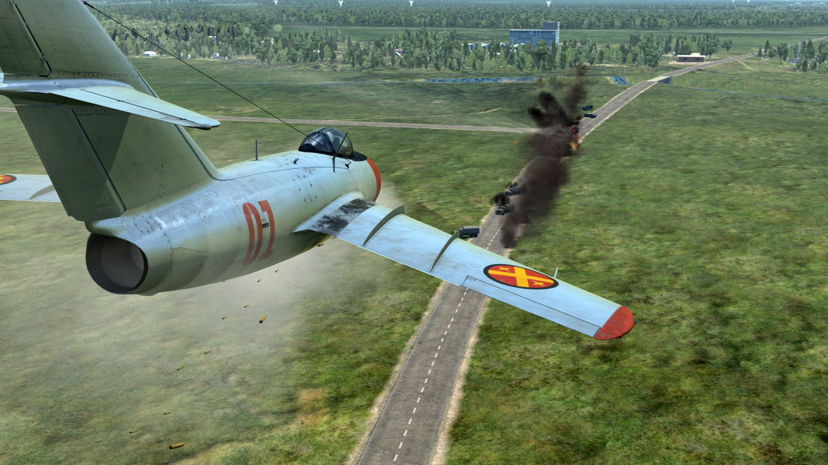 DCS World Low Fly