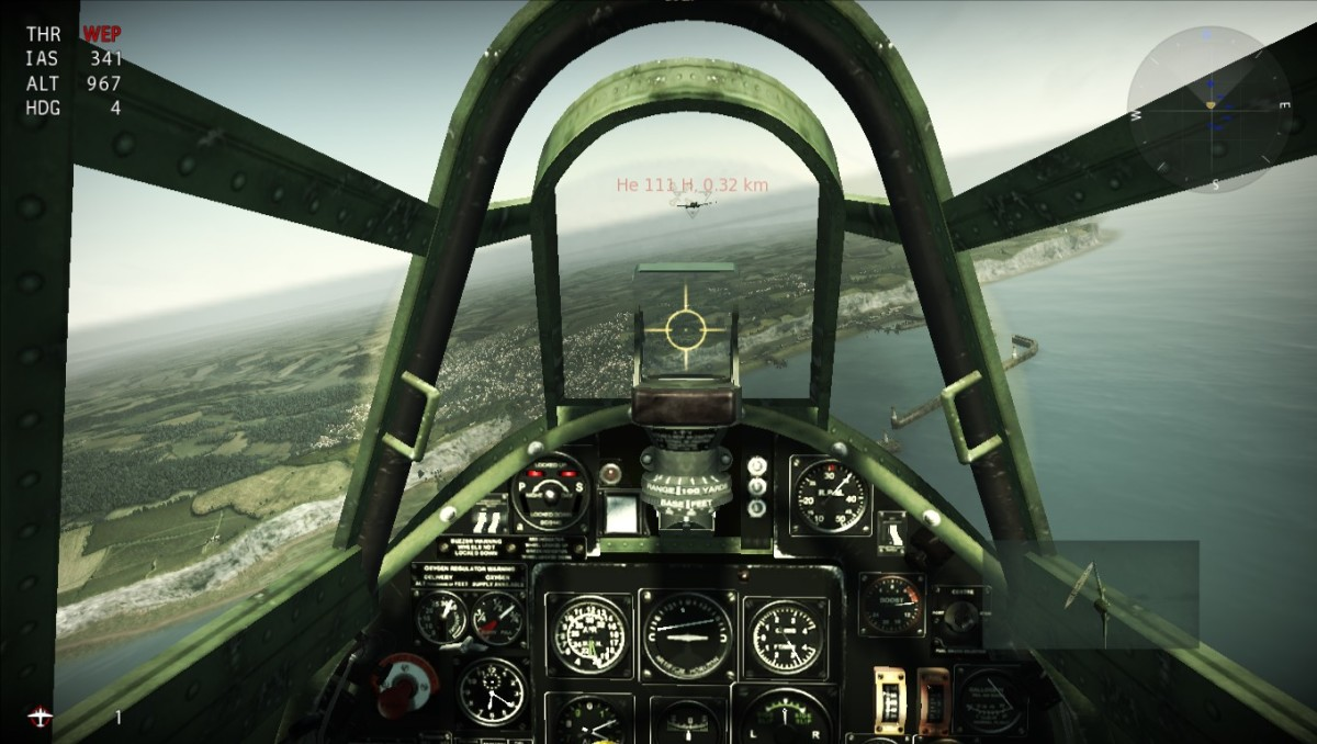 Wings of Prey Cockpit View