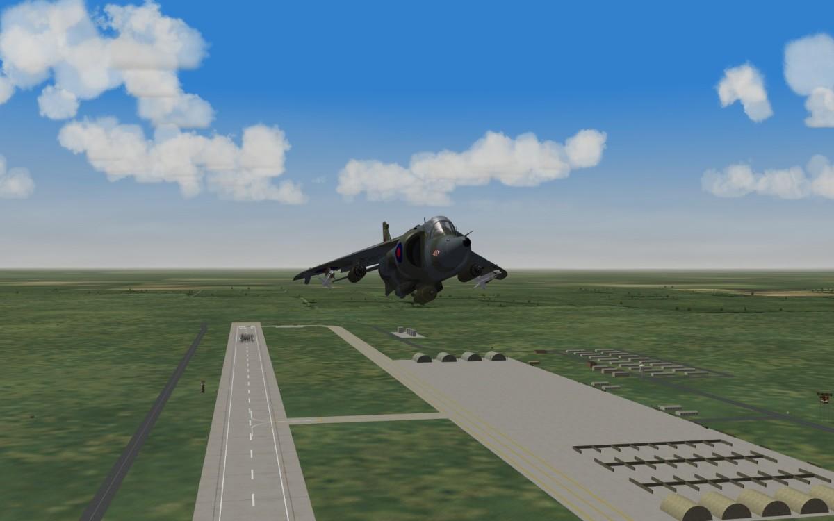 Harrier Take Off