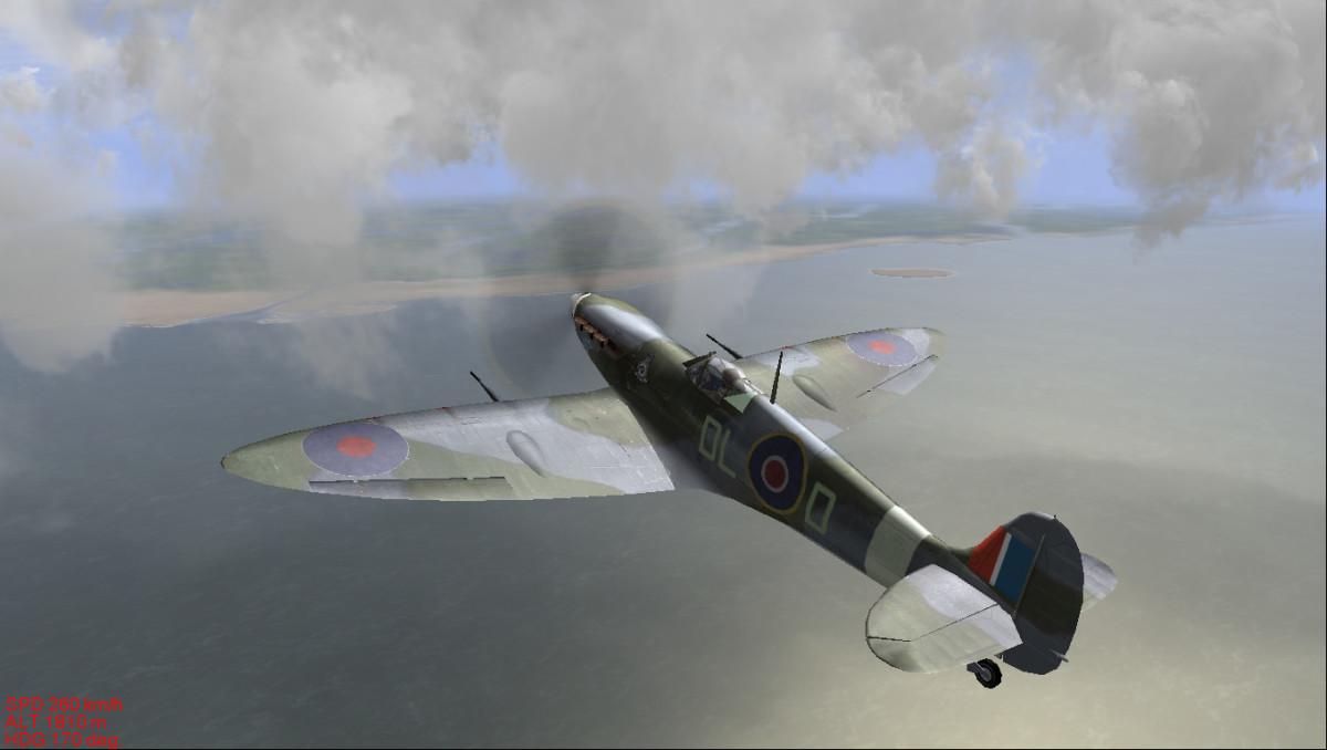 Il-2 Sturmovik 1946 Spitfire.