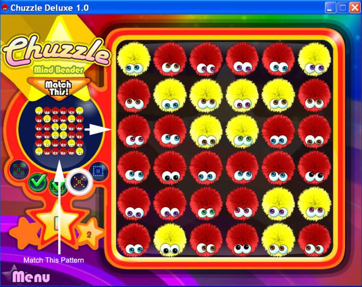 Mind Bender puzzle mode