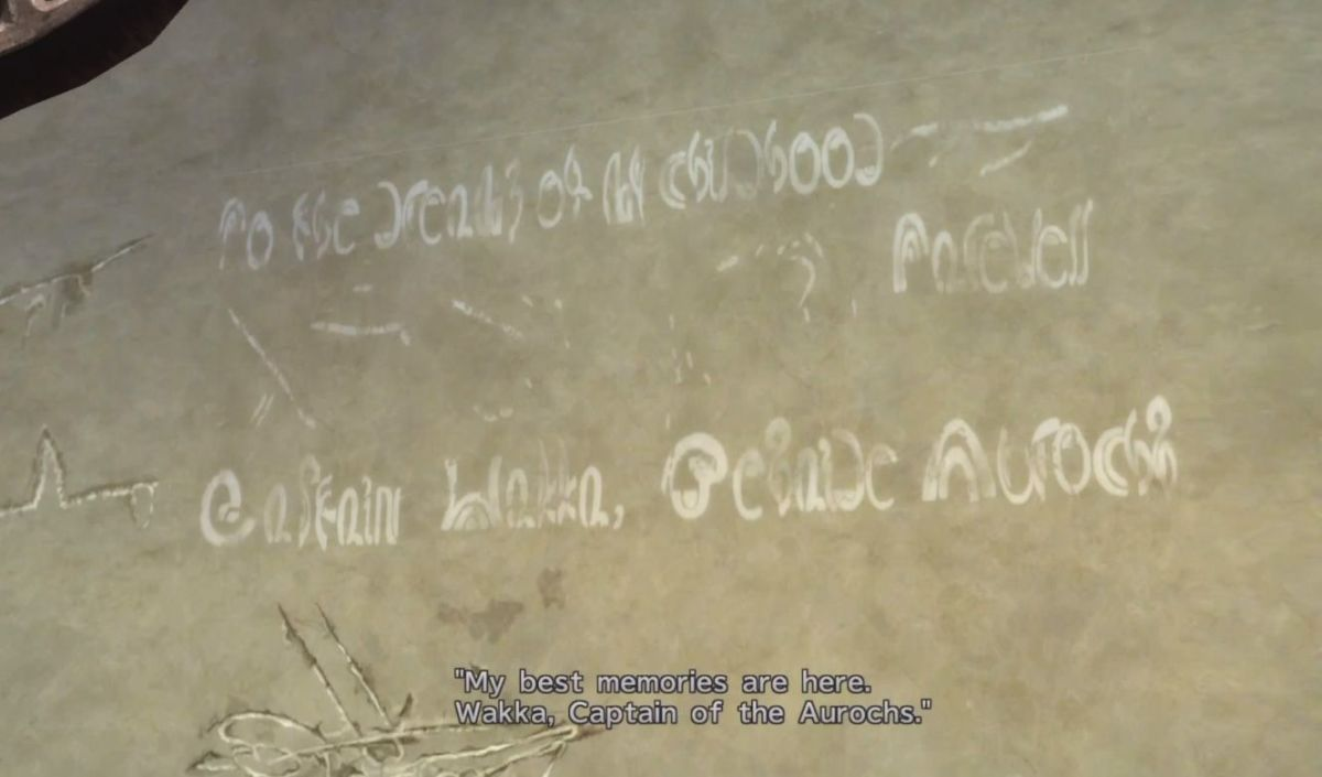 Wakka's Graffiti in Luca