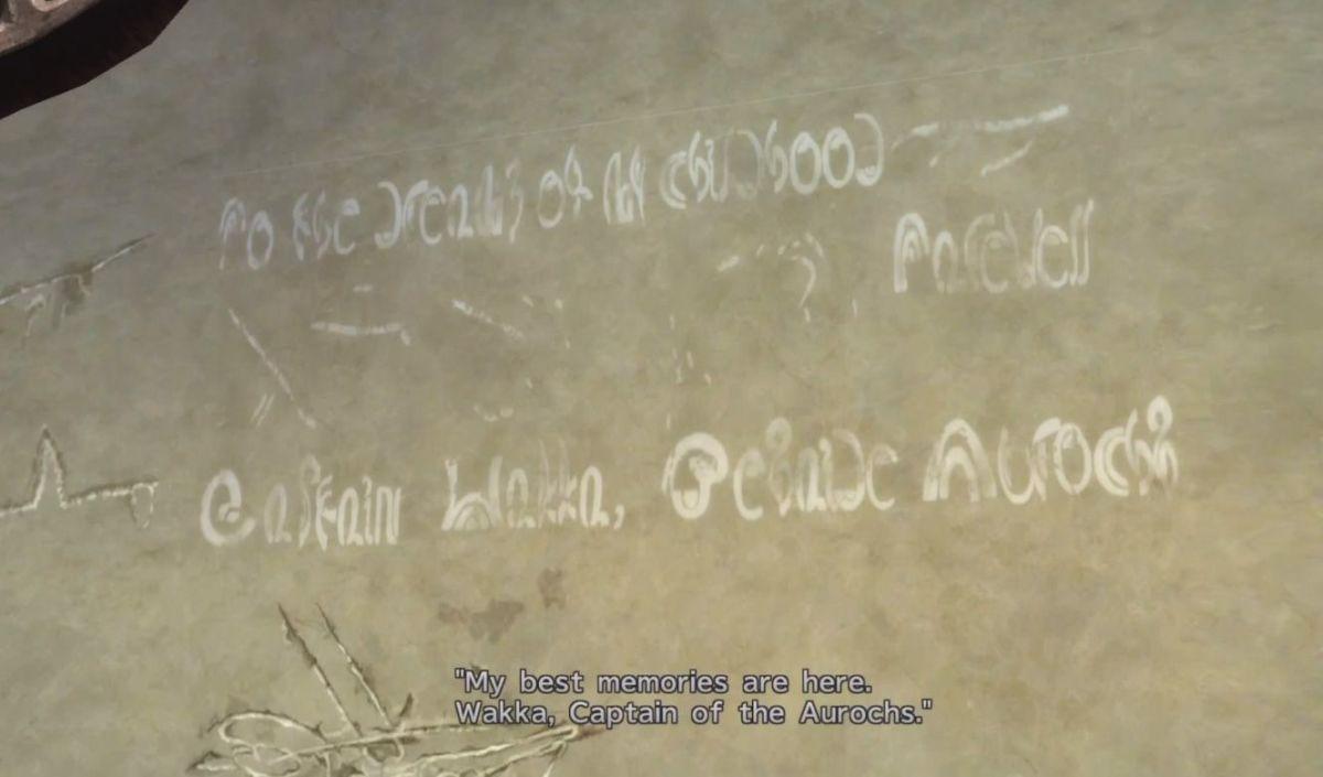 Wakka's Graffiti in Luca