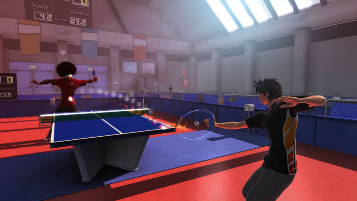 Want to try your table tennis skills?
