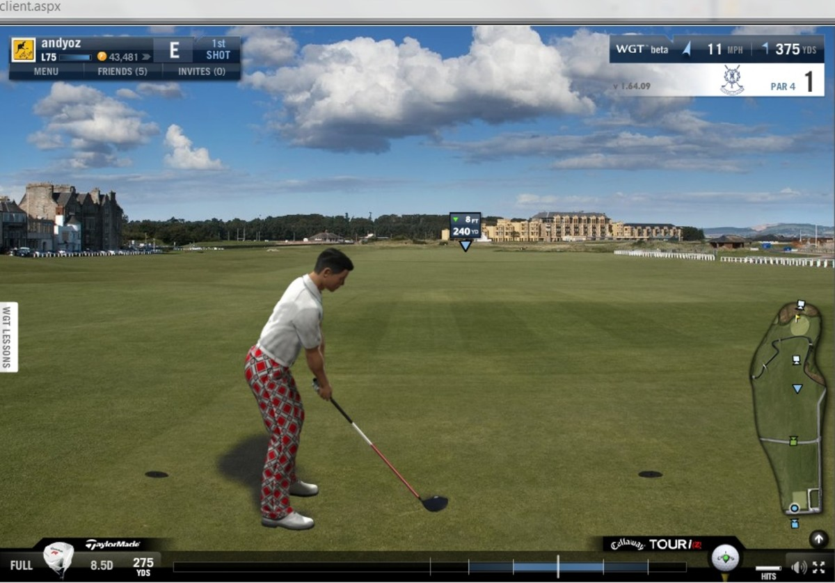 St.Andrews in the game.