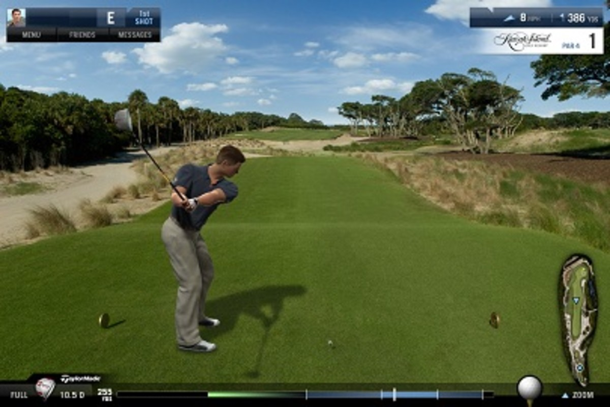 Kiawah Island in the game.
