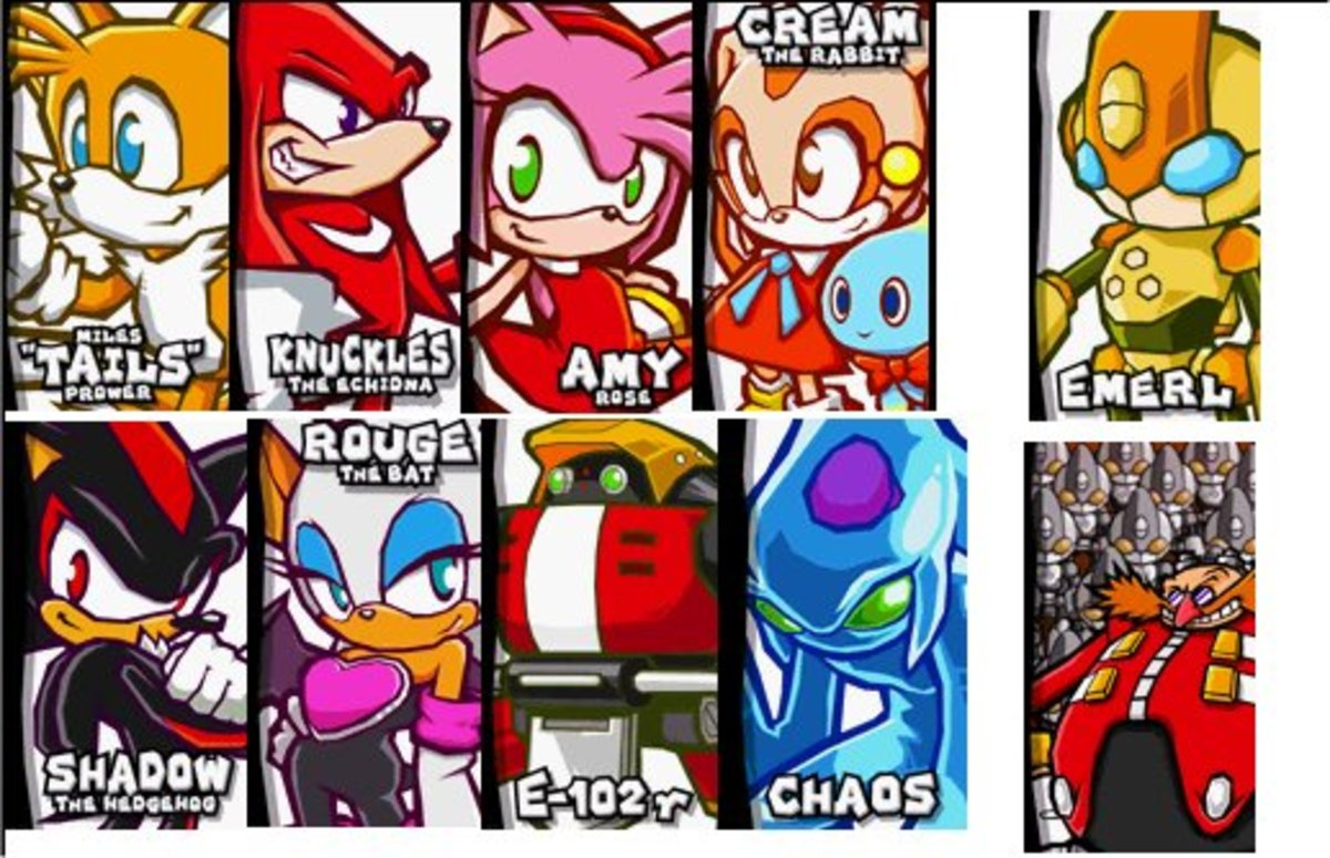 Sonic Battle Sprites ripped by Vicky Team