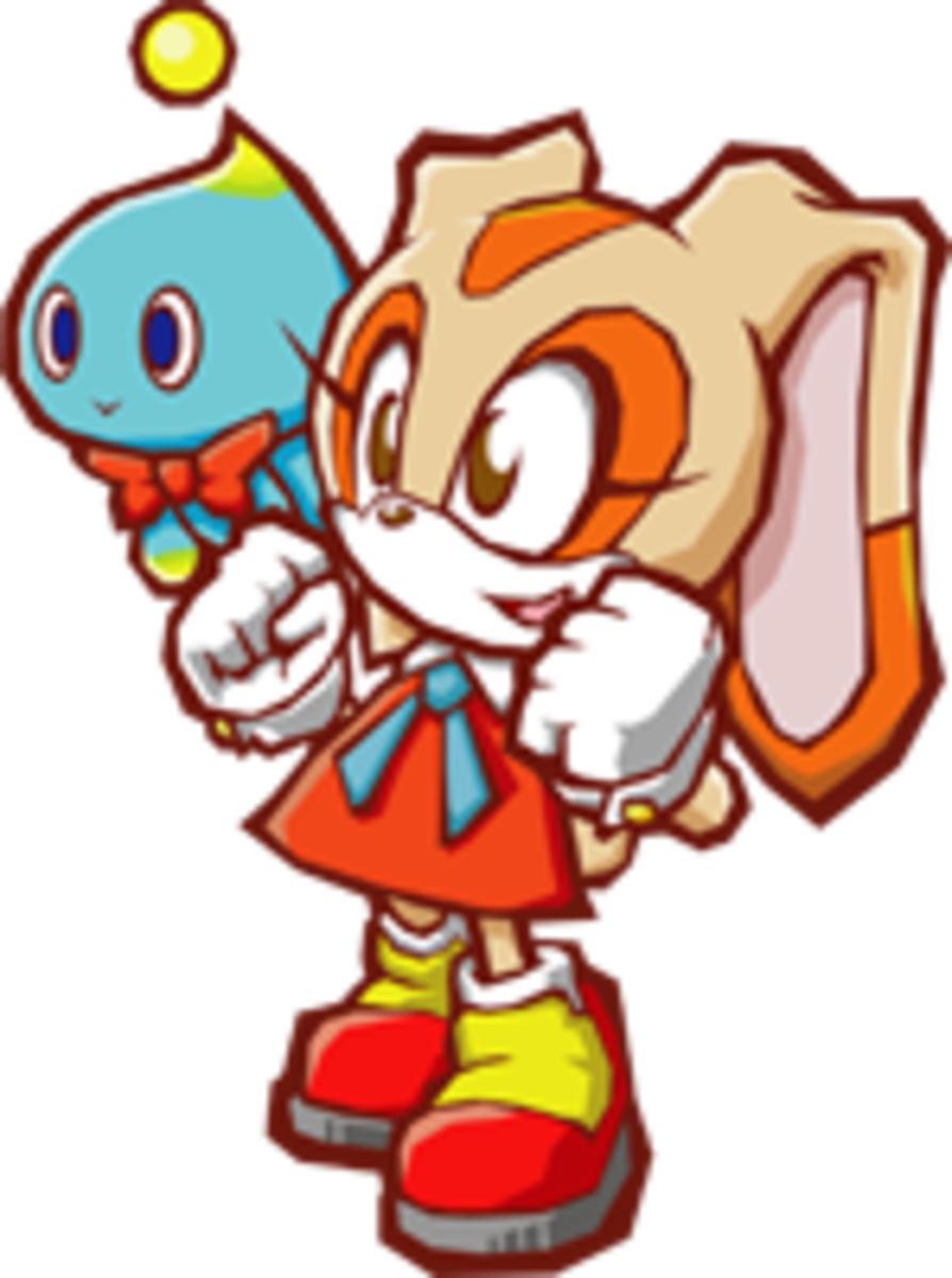 Cream should take Emerl on a journey to locate and save Gemerl in Sonic Battle 2.