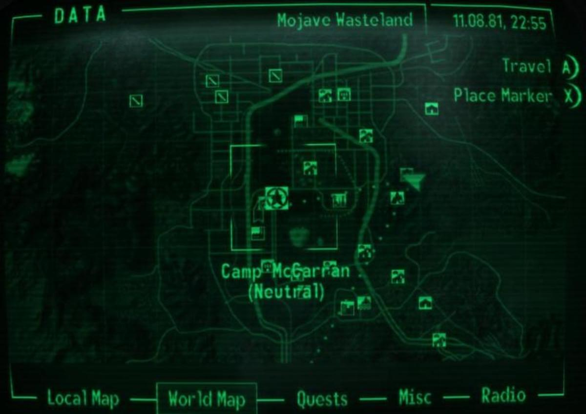 From Vault 34 to Camp McCarran.