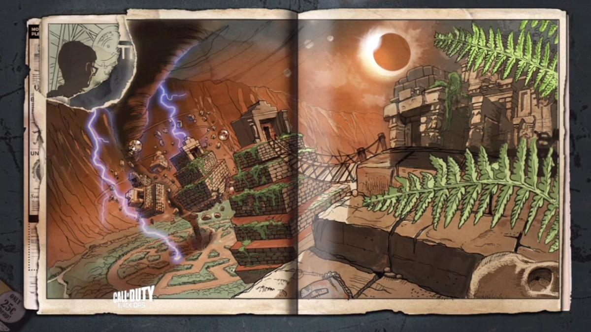 "Loading screen from ""Shangri-La Zombies."""