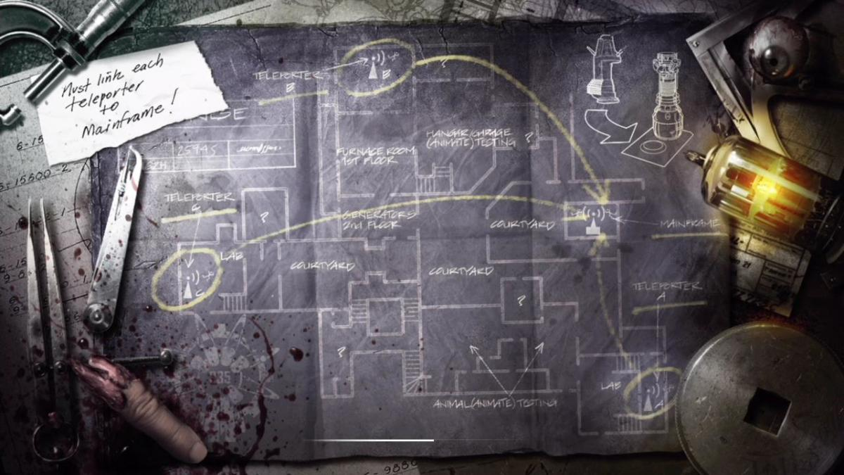 Loading screen to Der Riese Zombies map.