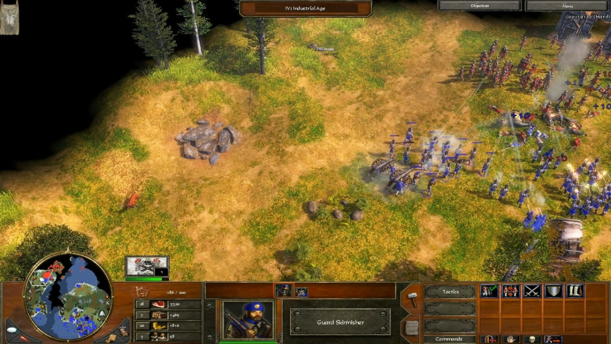 Attacking the first time against an overwhelming defense with a sacrificial army. All men were lost. :'(