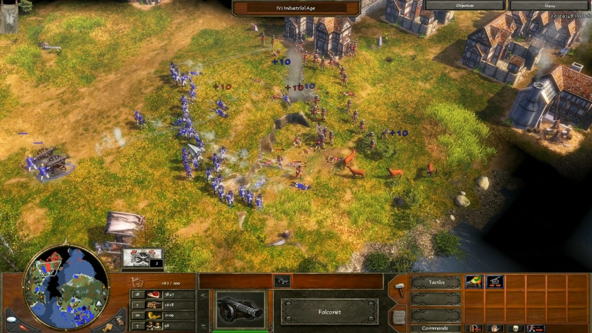 Things seem to go better for the first wave of attackers until some enemy cannon show up soon after.