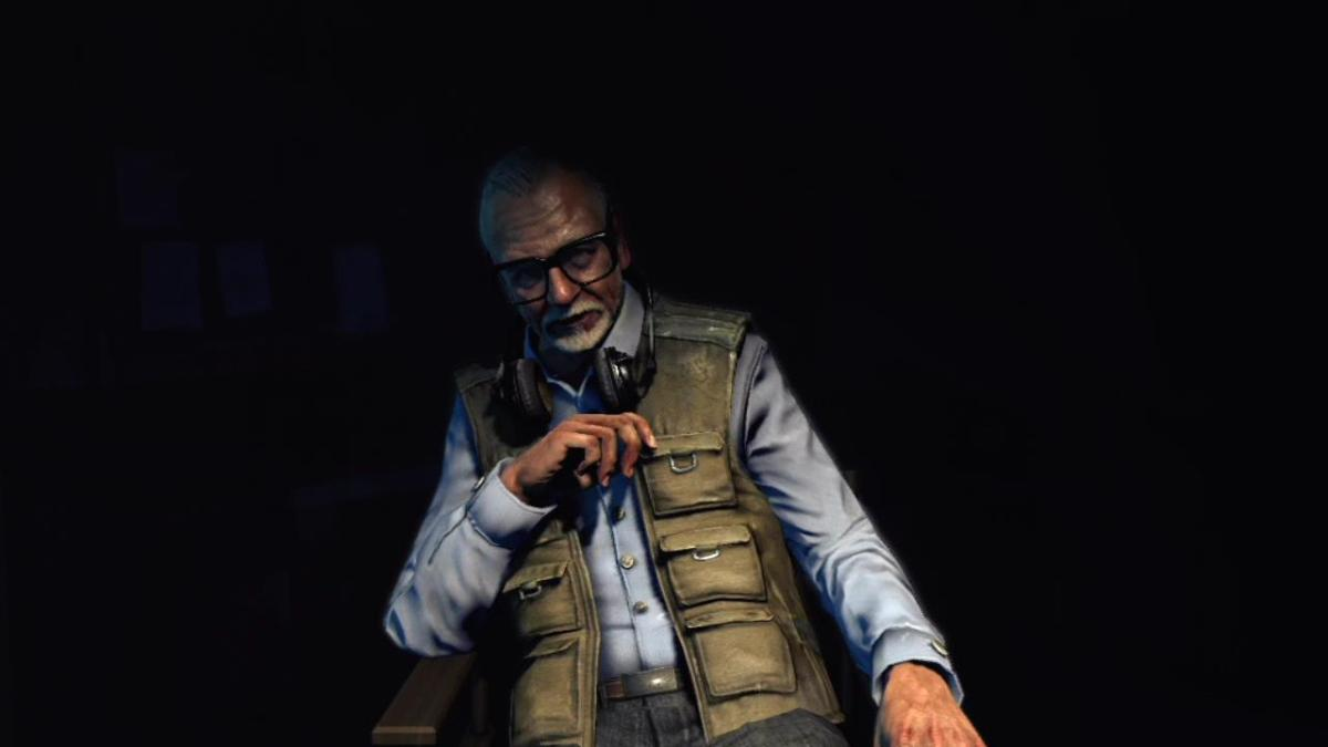 George A. Romero stars in Call of the Dead.