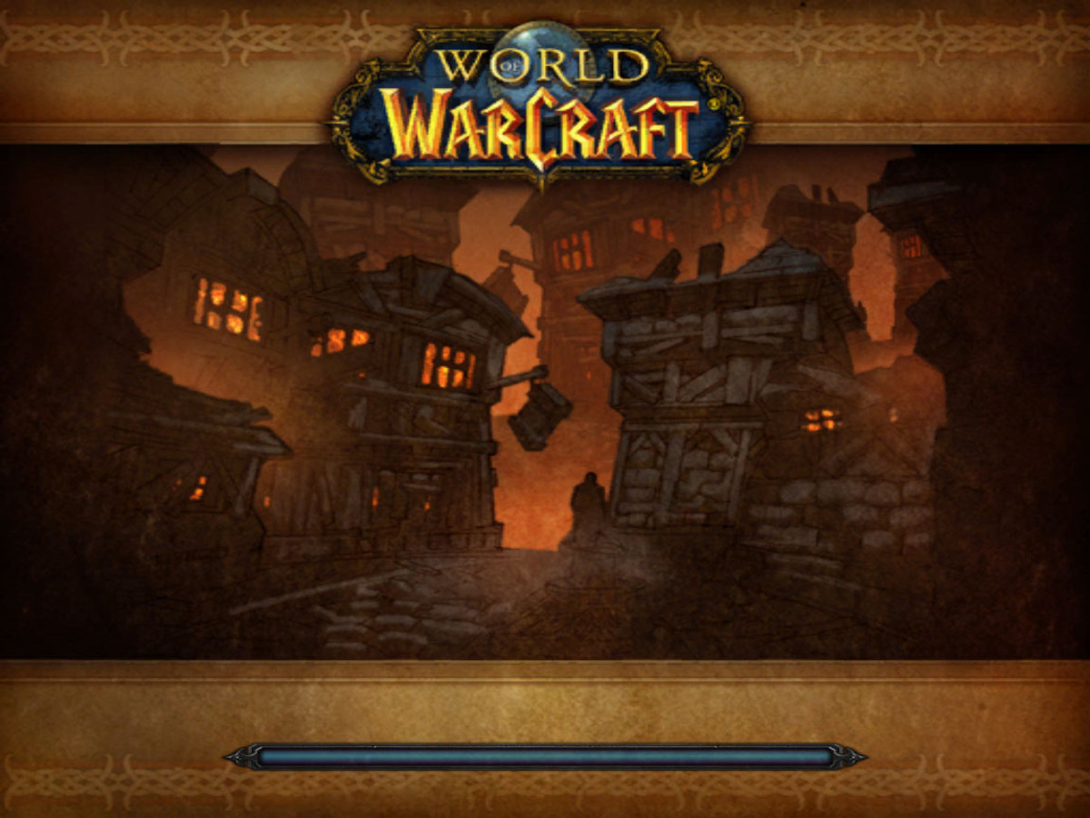 Stratholm instance loading screen