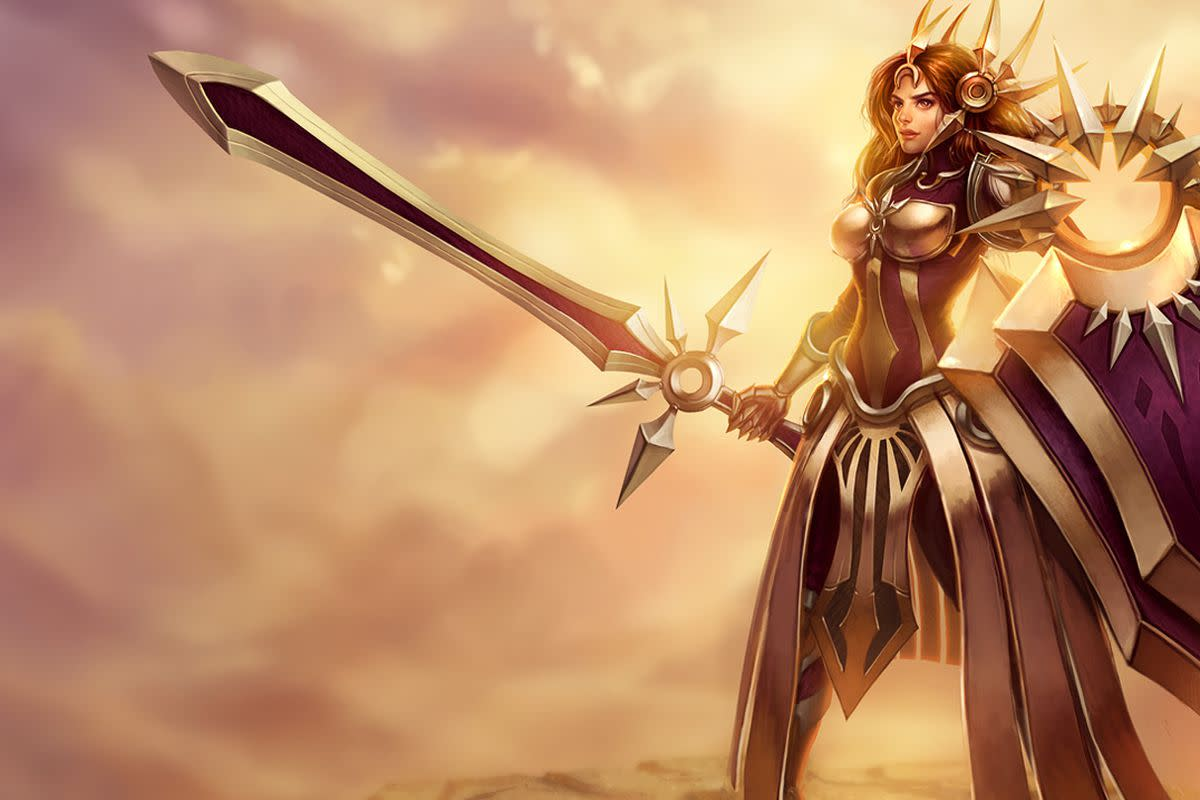 Leona is a hard engage champion with a lot of crowd control.