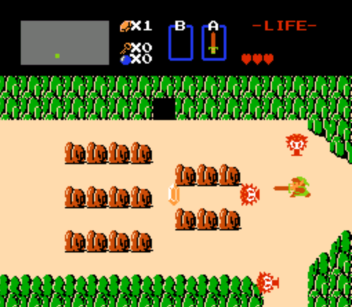 "By making your name ""ZELDA"" for your second playthrough, you'll get an altered, more difficult version of the game."