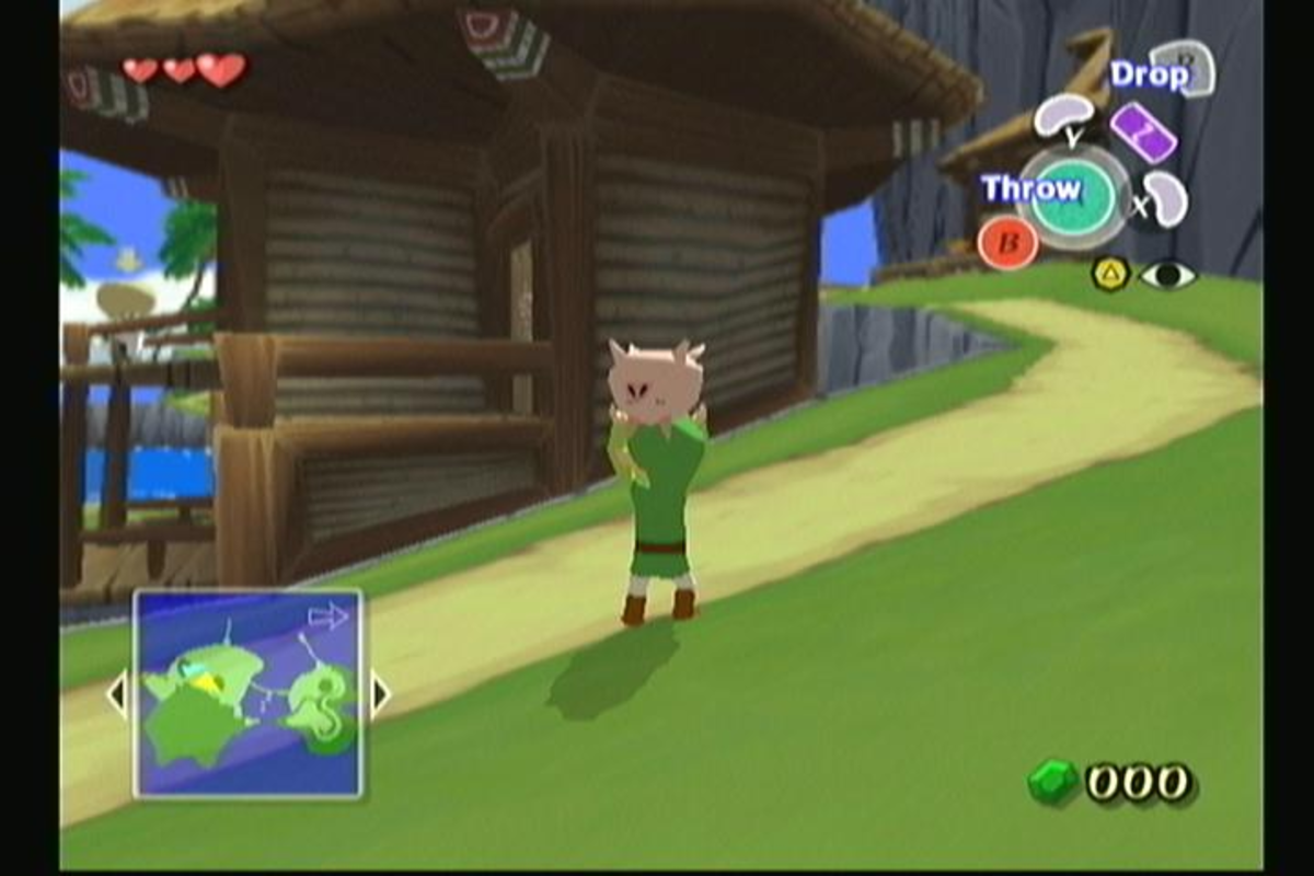 "In ""Wind Waker,"" you must travel across the sea on your quest to defeat Ganon."