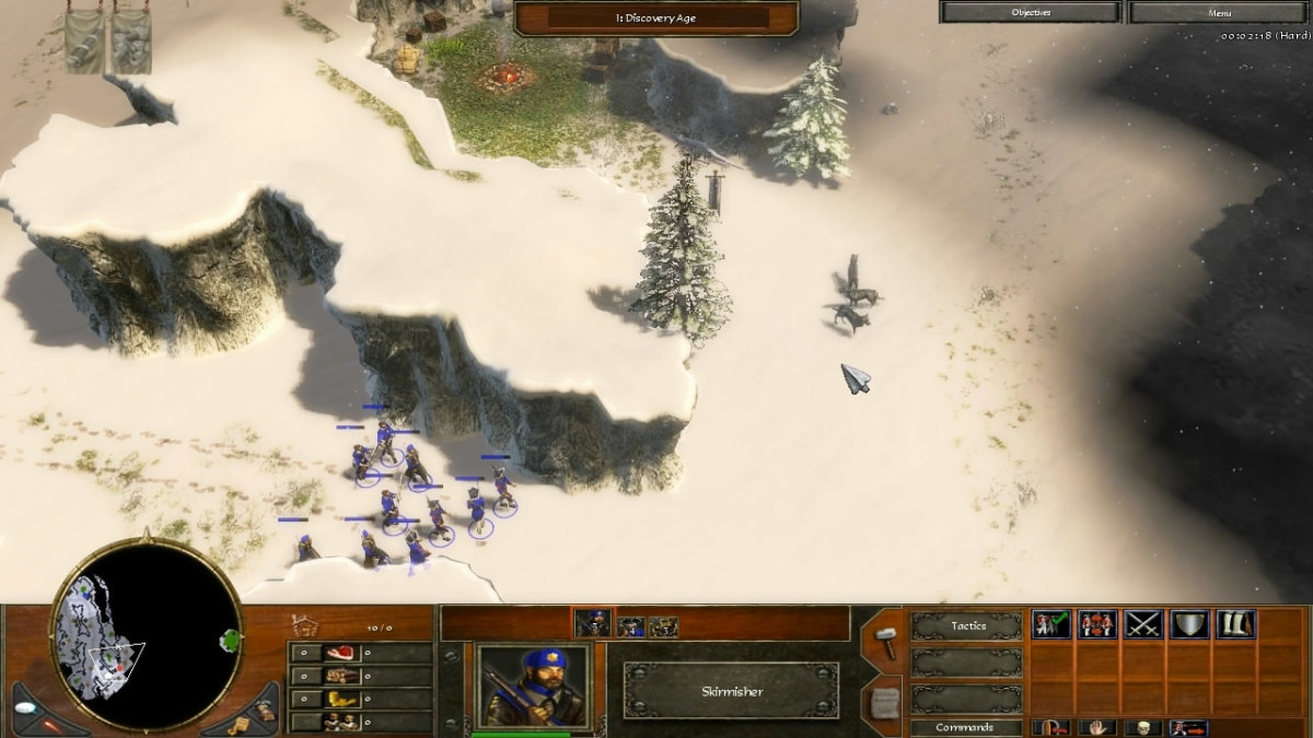 Cave #2 in Journey through the Andes of AoE 3.