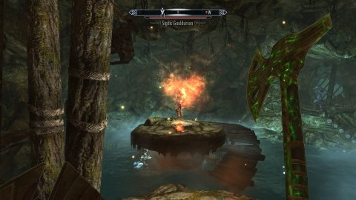 Is there a right way to pwn enemies in Skyrim?