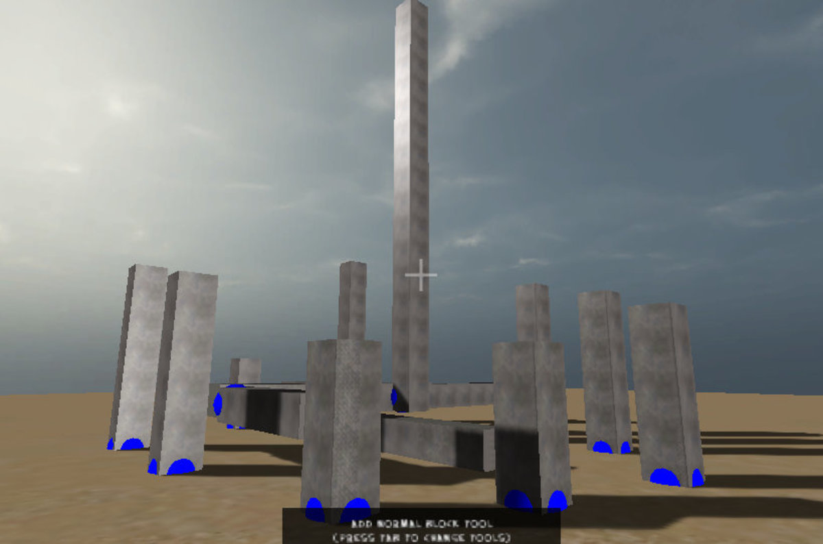 A Modern-Day Stonehenge (BlockYard)