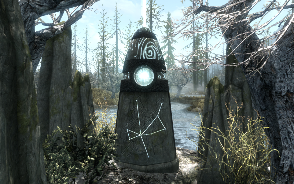 Activating The Apprentice Stone to receive its blessing.