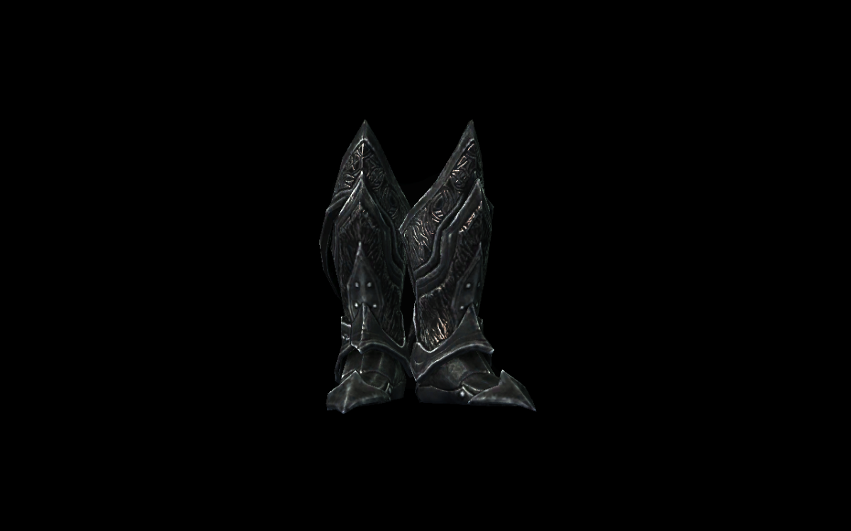 Daedric Boots
