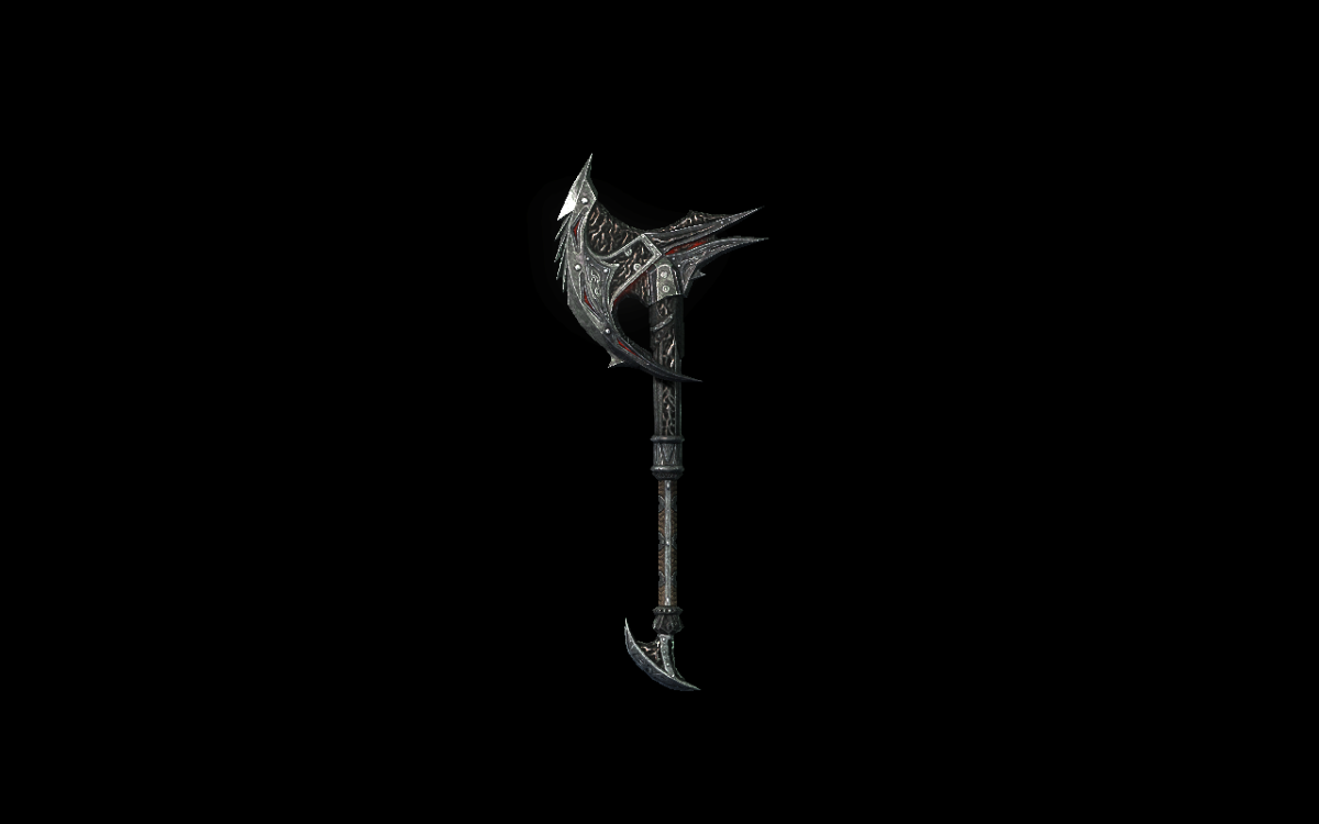 Daedric War Axe
