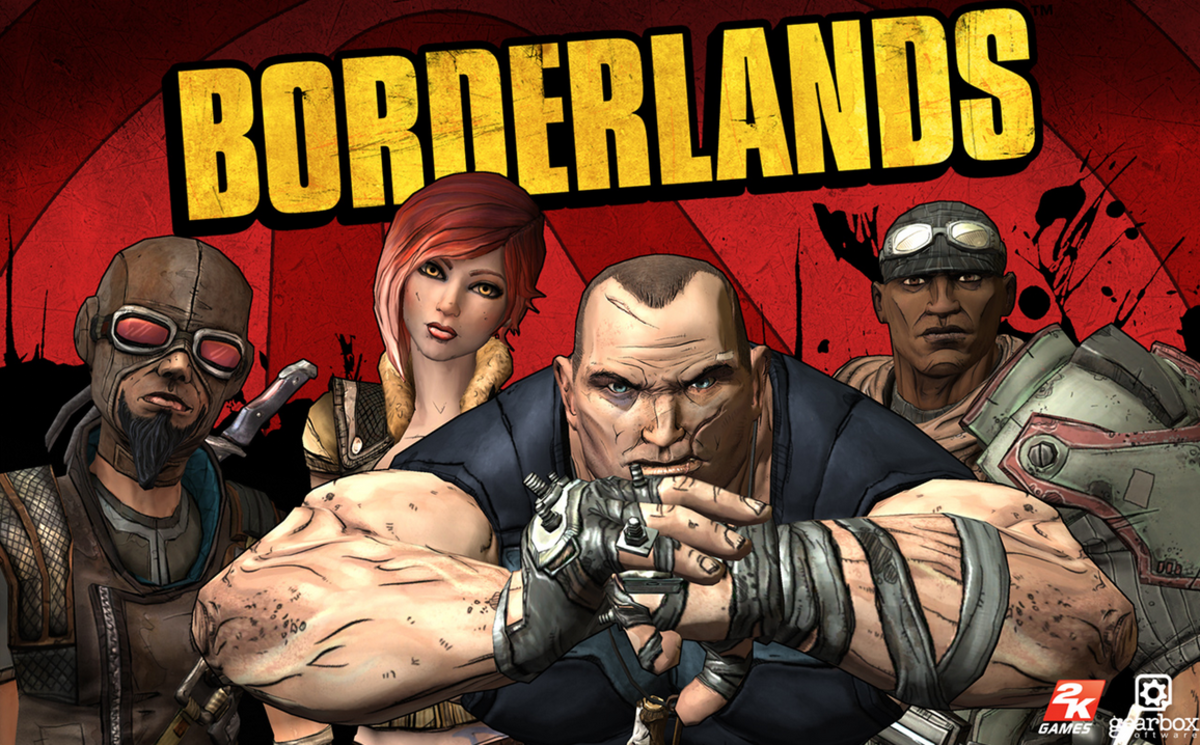 """""""Borderlands"""" can be played online via co-op mode."""