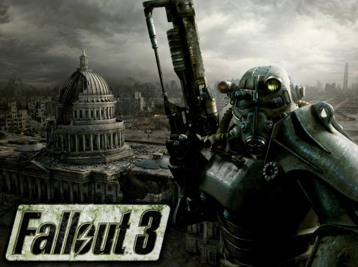 "Explore the dangerous wasteland of ""Fallout 3."""