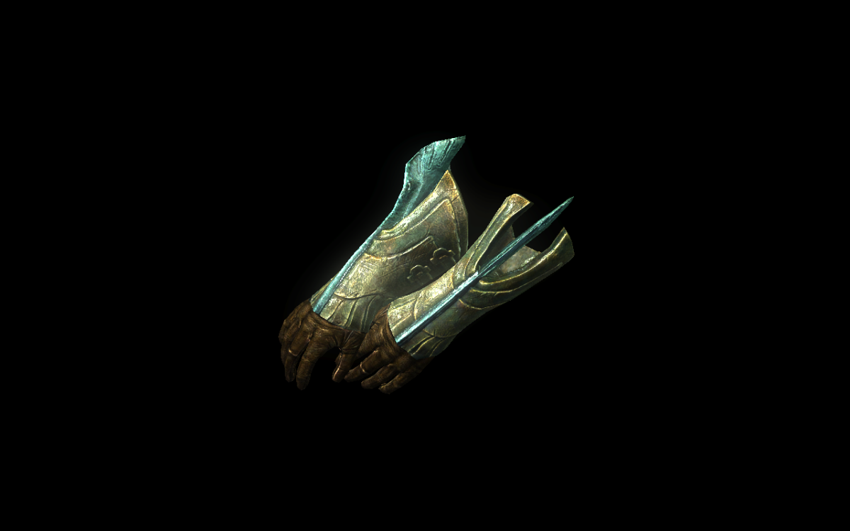 Glass Gauntlets