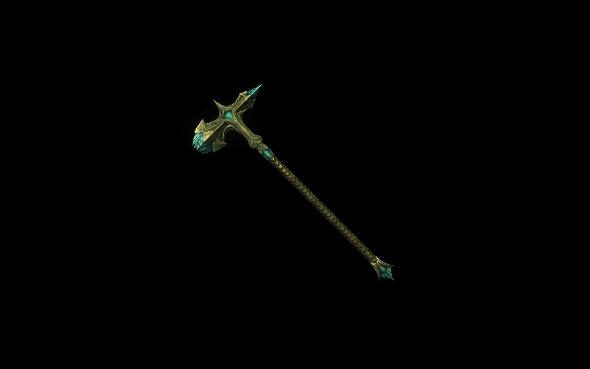 Glass Warhammer