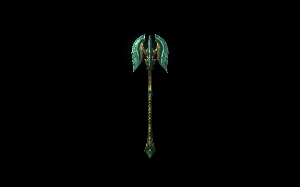 Glass Mace
