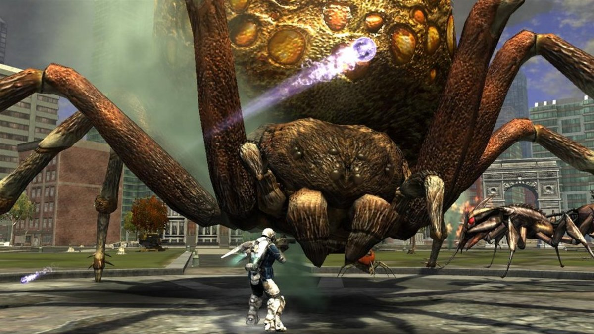 """Earth Defense Force: Insect Armageddon"" is a spinoff of the original series."