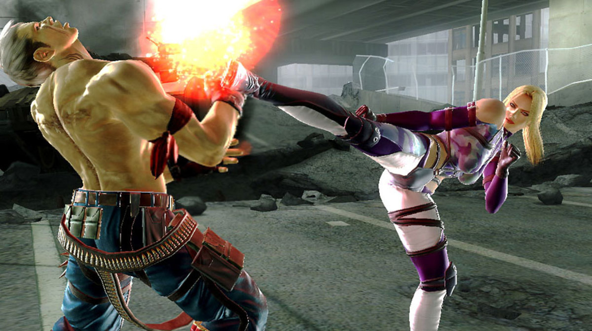 "Become the champ of high kicks in ""Tekken 6."""