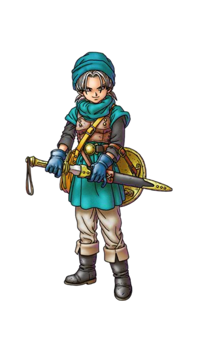 Terry, the Swordsman in Blue. Also Milly's brother.