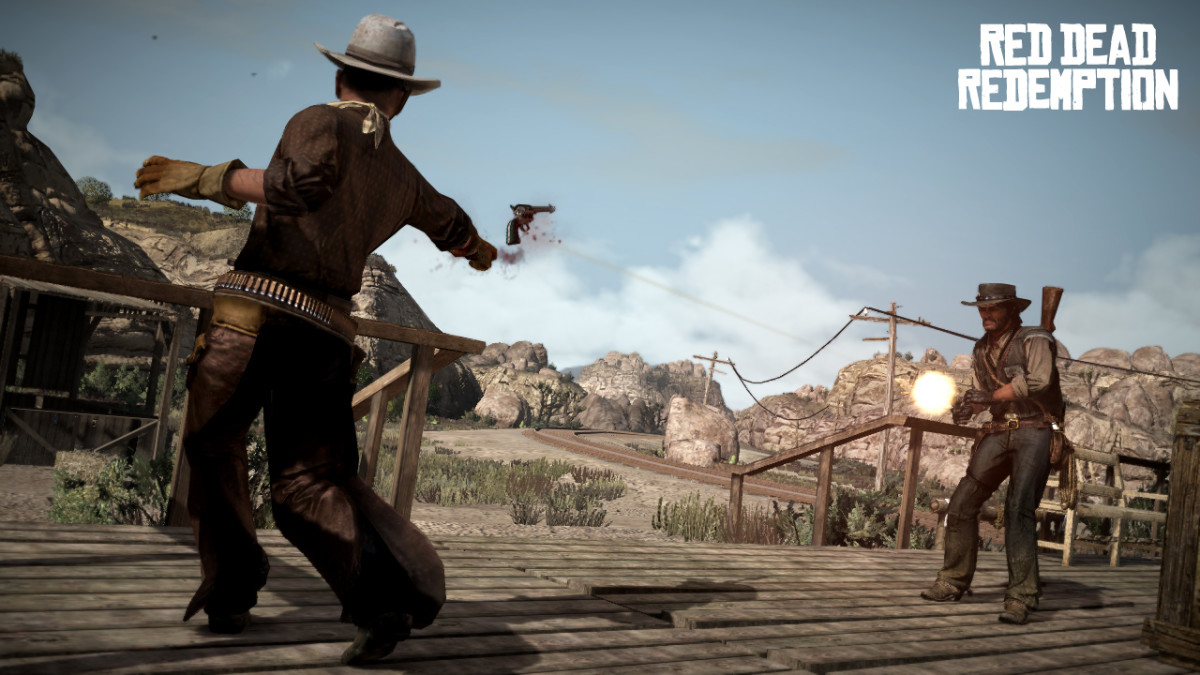 "Many games include RPG elements, like the missions in games like ""Red Dead Redemption."""